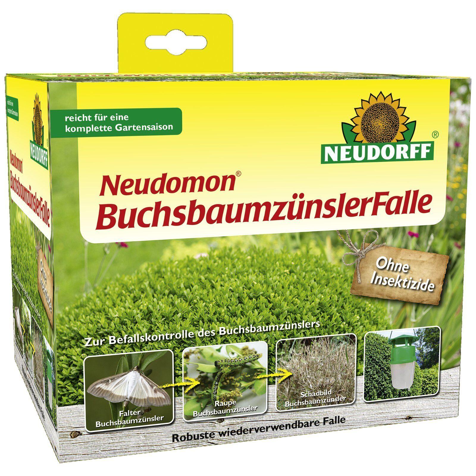 Neudorff Neudomon Buchsbaumzünsler-Falle Pheromonfalle Buchsbaumzünslerfalle
