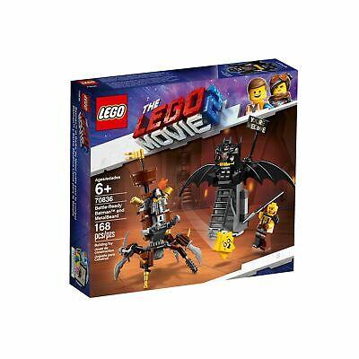 The Lego Movie 2 Building Toy Set #70836 Battle-Ready Batman & MetalBeard 168pcs