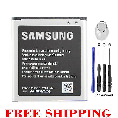 New OEM 2000mAh Battery for Samsung Galaxy Core 2 Galaxy Core Lite SM-G355+Tools