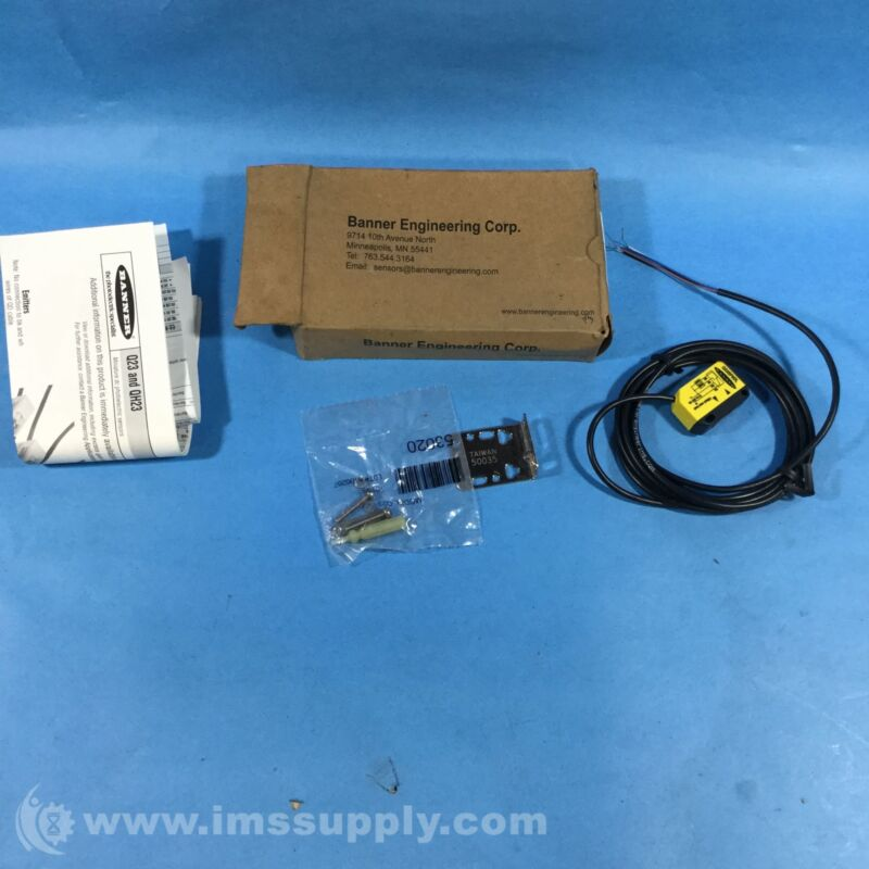 Banner Q23SP6DL Photoelectric Sensor FNOB