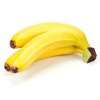 Artificial Bunch of 3 Bananas Fake Banana Bunch ()