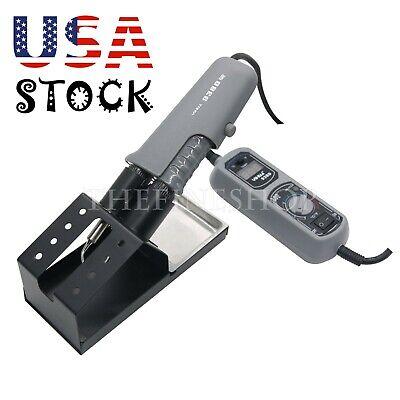 Hot Tweezers Mini Soldering Station Digital Led Display 110v 120w For Bga Smd Us