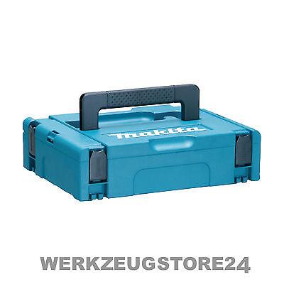 Makita MAKPAC Systemkoffer Gr. 1 Werkzeugkoffer mit Festool Systainer kompatibel