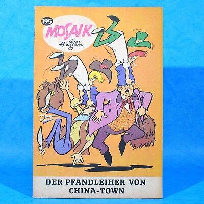 Mosaik 195 Digedags Hannes Hegen Originalheft | DDR | Sammlung original MZ 2