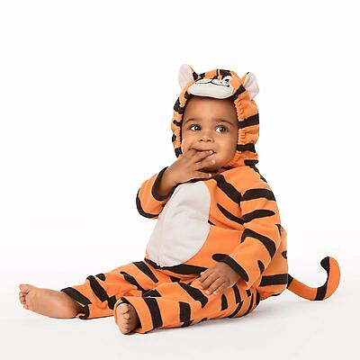12 Month Boy Halloween Costumes (NEW NWT Boys Carter's Halloween Tiger Costume 12 Months 2)