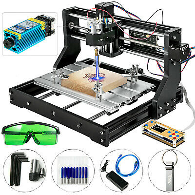 Cnc 3018 Pro Machine Router 3 Axis Engraving Offline Control5500mw Laser Head