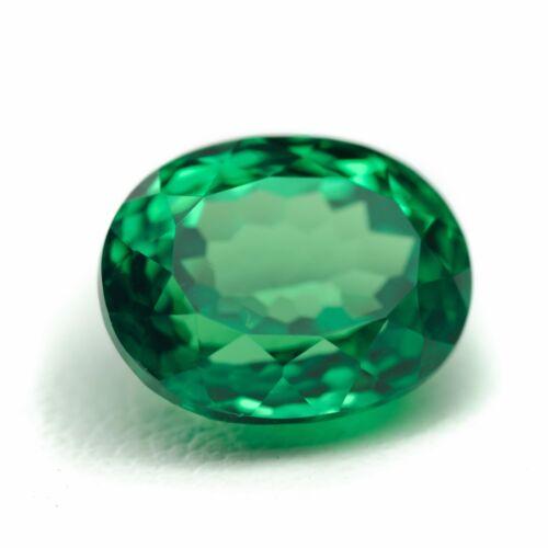 5.32ct Tsavorite Lab Created Green Garnet (YAG) Loose Stone