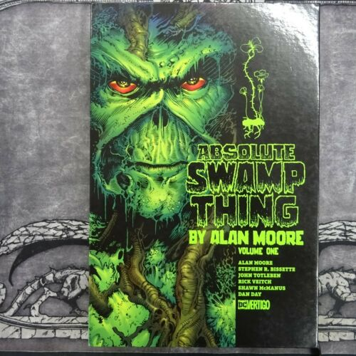 ABSOLUTE SWAMP THING Volume 1 - Hardback Slipcase - by Alan Moore DC Vertigo (R7