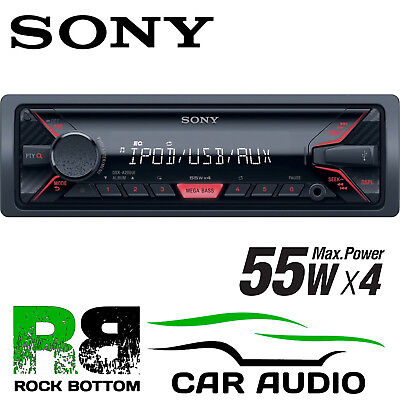 SONY DSX-A200Ui 4 x 55 Watts Car Stereo Radio Mechless USB AUX iPhone Player
