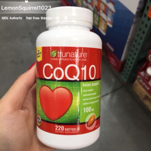coq10 100 mg 220 softgels coenzyme q