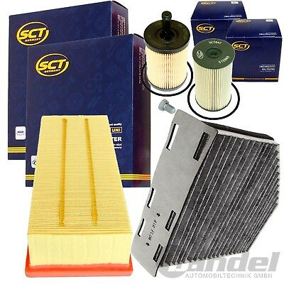 FILTER SET INSPEKTIONSPAKET 1.9+2.0 TDI VW TOURAN PASSAT 3C CADDY III AUDI A3 8P - Luft Filter Set
