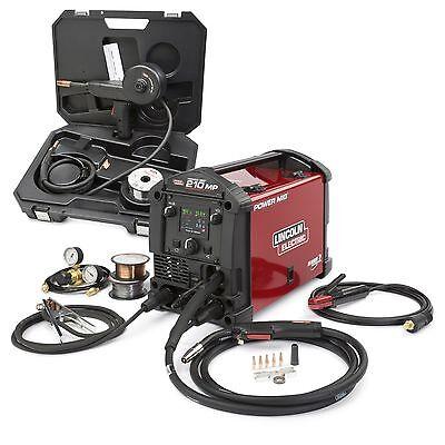 Lincoln Power Mig 210 Mp Welder Aluminum One-pak K4195-1