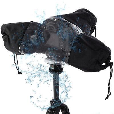 Rain Cover Dust Waterproof Rainproof Universal for Camera CANON NIKON D-SLR