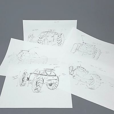 Masterminds Steve Chambers' Geo Tractor (5) Concept Sketches - Owen Wilson