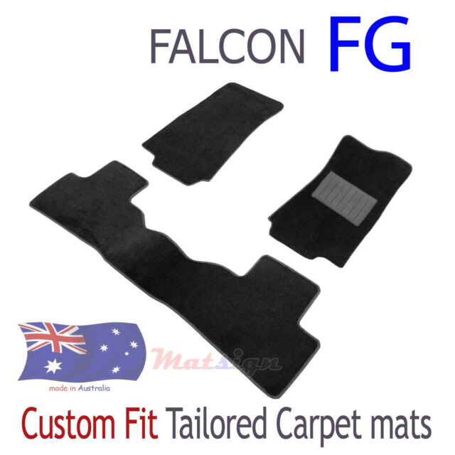 Custom fit Floor Car Mats Ford Falcon FG G6E G6 XR6 Black Carpet  sc 1 st  eBay & Custom Fit Floor Car Mats Ford Falcon FG G6e G6 Xr6 Black Carpet ... markmcfarlin.com