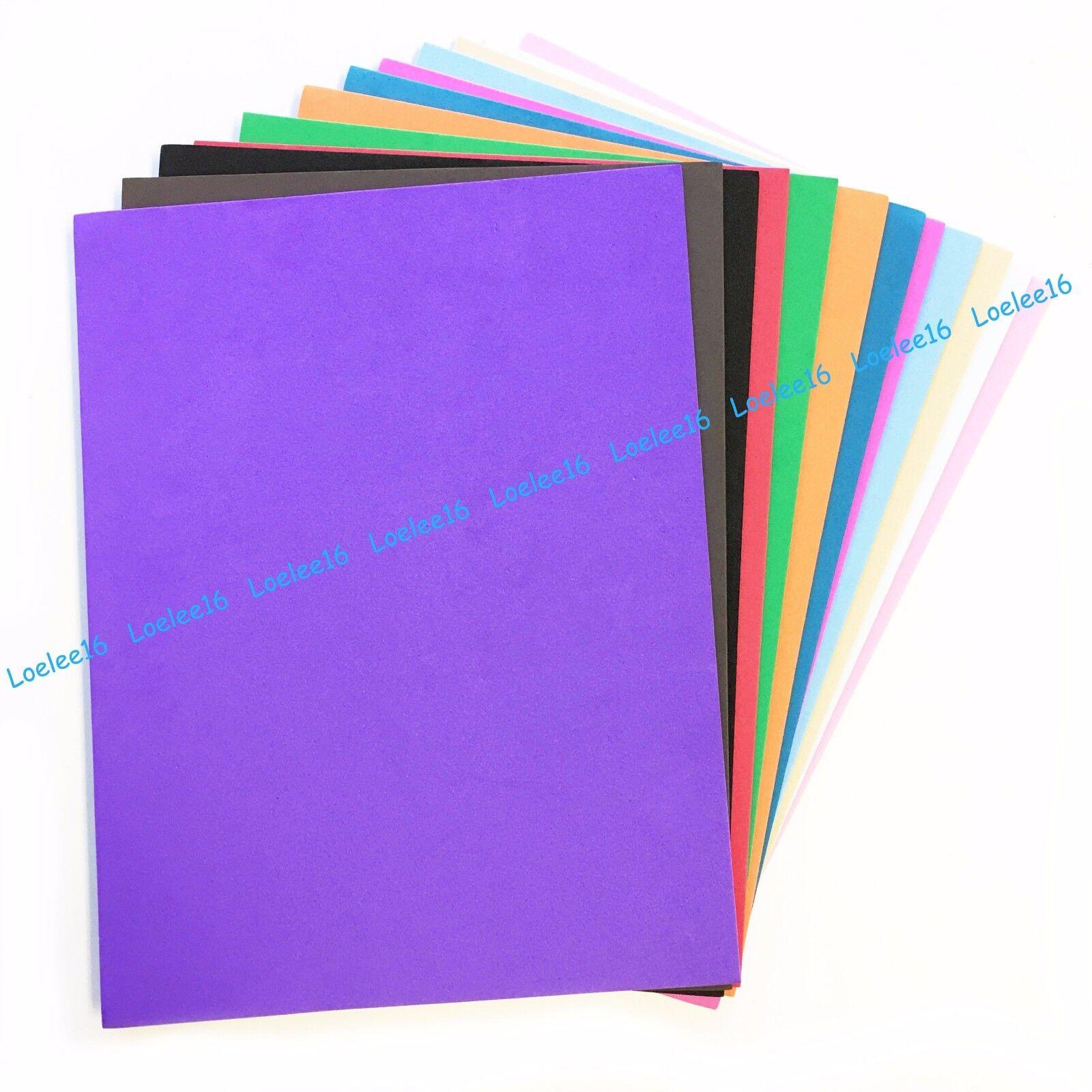 EVA Foam sheets reg & glitter eva 9x12,16x24,12x18 10-25 pc