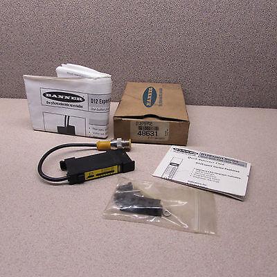 Banner D12ep6fpq Fiber Optic Sensor 48631