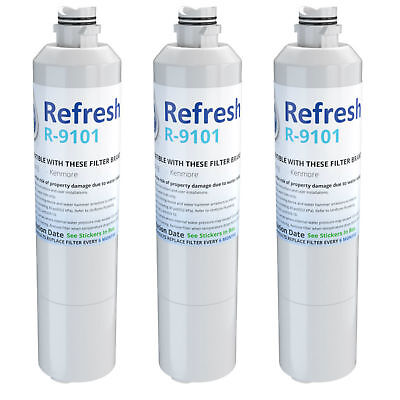 water filter fits samsung rf263beaesg aa refrigerators