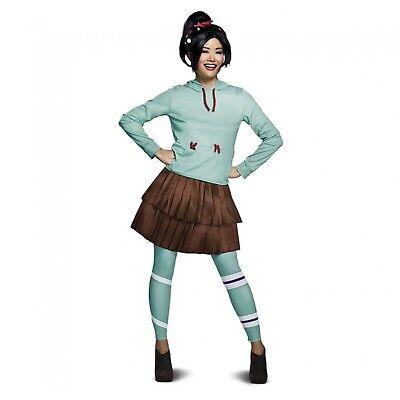 Women's Vanellope Von Schweetz Wreck It Ralph Costume Hoodie Leggings Teen - Wreck It Ralph Adult Costume