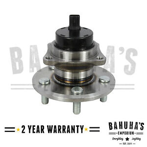 REAR WHEEL BEARING & HUB+ ABS SENSOR FOR TOYOTA CELICA 1.8 VVTi & VVTLi 1999>05