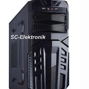 Gamer PC AMD FX-4300 4x 3,8GHz 8GB Radeon R7 240 Turbo Rechner Gaming Computer