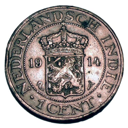 NETHERLANDS EAST INDIES 1 CENT 1914 E11.2