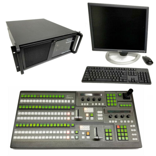 Broadcast Pix Slate G Series 5008Ghh 2ME HD Premium Workstation & Switcher