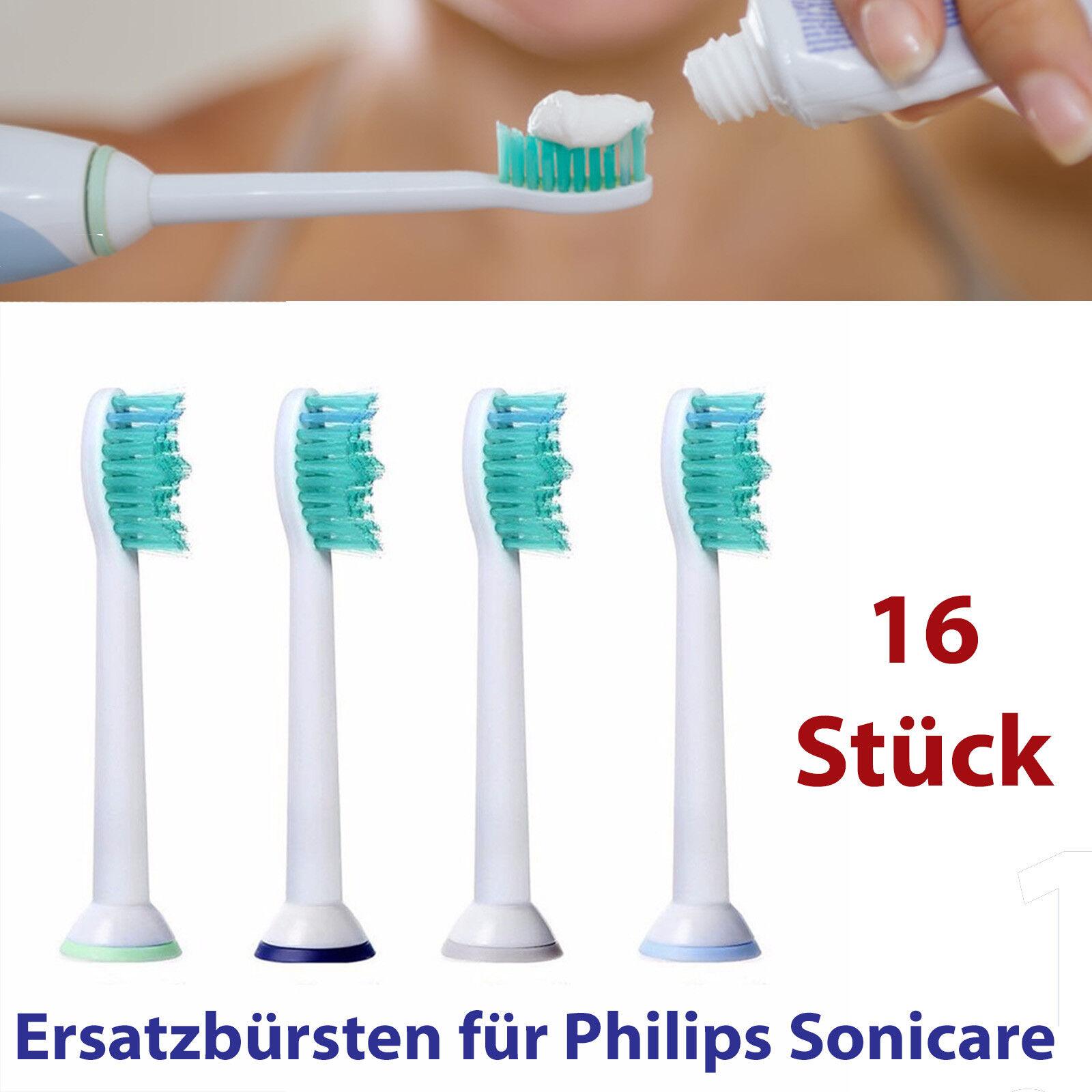 16 Philips Sonicare passende Aufsteckbürsten Ersatzbürsten Pro Results Aufsätze
