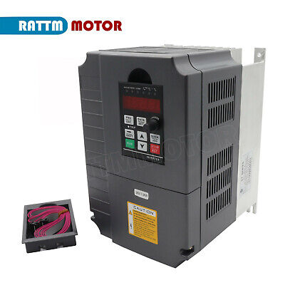 Hy 380v 7.5kw 10hp Vfd Variable Frequency Motor Driver Inverter Vsd 34a2m Cable