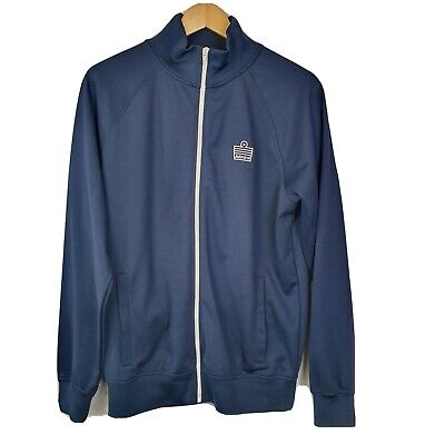 OFFICAL ADMIRAL RETRO TRACKSUIT TOP JACKET - SIZE MEDIUM