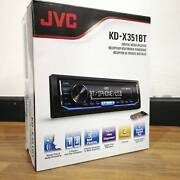 JVC KD-X351BT Single DIN Bluetooth USB Aux Digital Media Sydney City Inner Sydney Preview