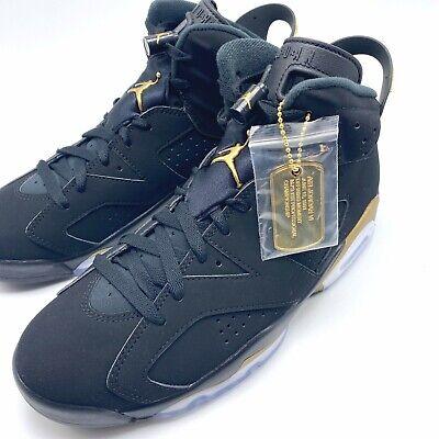 Nike Air Jordan 6 Retro DMP Men's Shoes Black/Metallic Gold-Black CT4954-007