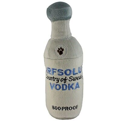 Haute Diggity Dog Arfsolut Vodka Bottle Squeaky Toy - Large 10 Inches Polyester (Haute Diggity Dog Squeaky Toy)