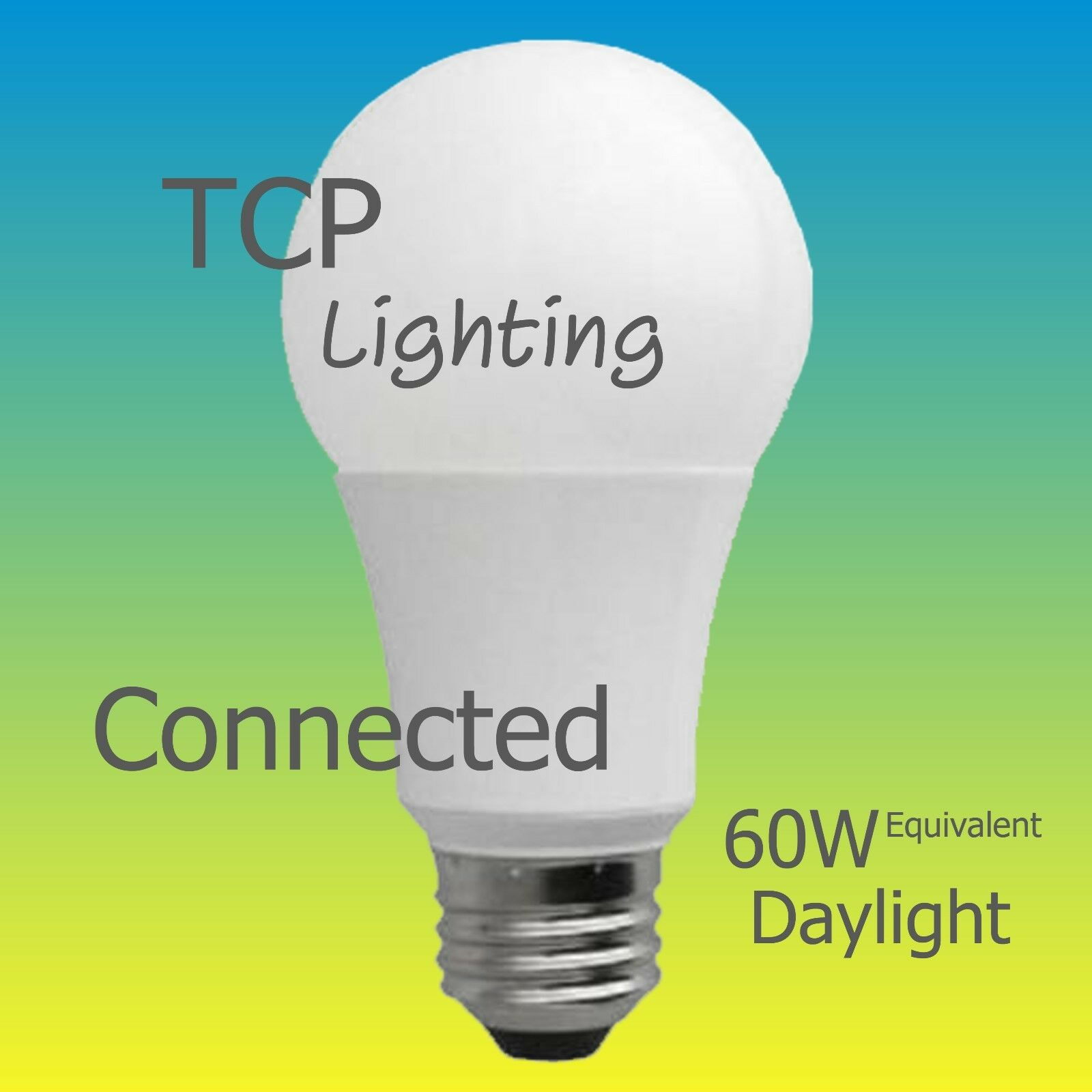TCP LED Connected A19 - 60W Equivalent,  Daylight  WiFi Enab