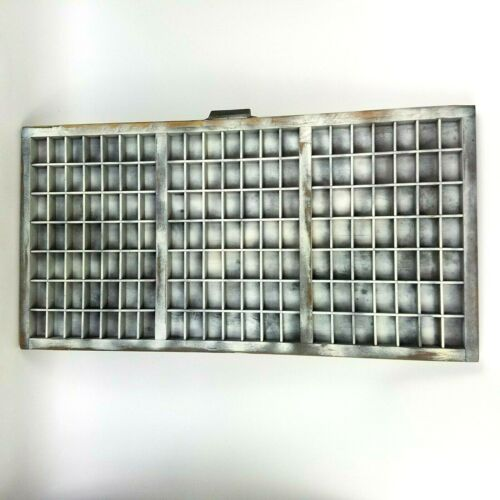 Vintage Hamilton Letterpress Tray Printer Type Set Drawer Display Shadow Box