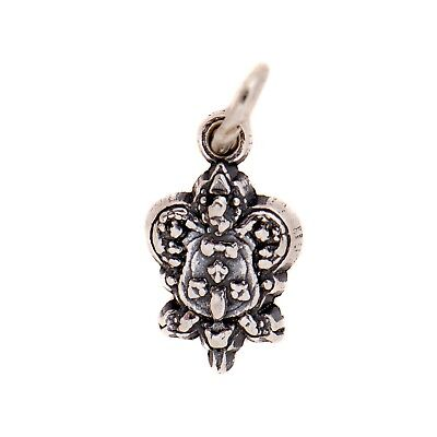 Kappa Kappa Gamma Sterling Silver Crest Charm With Chain