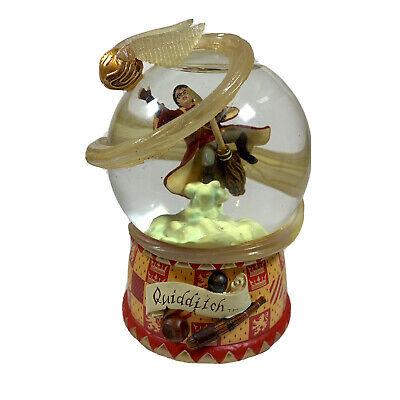 Harry Potter Quidditch Glitter Snow Globe Waterglobe by San Fransisco Music Box