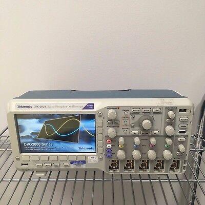 Tektronix Dpo2024 Digital Phosphor Oscilloscope 200 Mhz 1gss