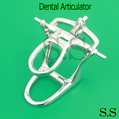 Dental Lab - Articulator Chrome Plated Full High Arch Adjustable Dn-2172