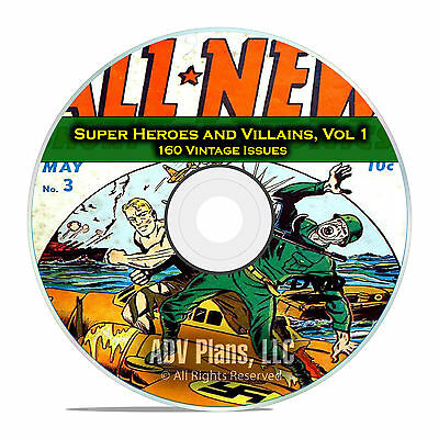 Super Hero, Villains, Vol 1, America's Best Comics, Golden Age Comics DVD
