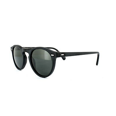 2516709c3b Oliver Peoples Sunglasses Gregory Peck 5217 Black Midnight Express  Polarized VFX
