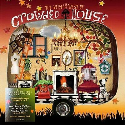 CROWDED HOUSE LP x 2 The Very Very Best Of Crowded House +  Downloads IN (Best House Music In 2019)