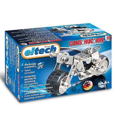EITECH Metallbaukasten Motorrad 146x87x80mm