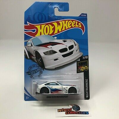 BMW Z4 M Motorsport #172 * WHITE * 2020 Hot Wheels Case K * ZE22