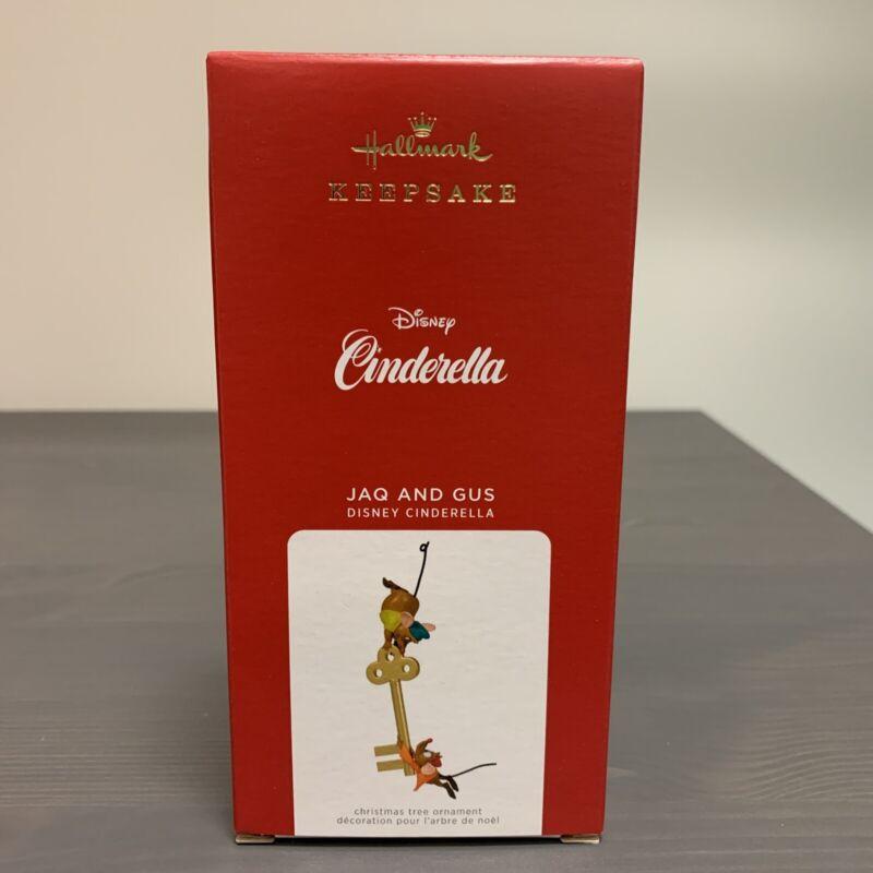 2021 Hallmark JAQ & GUS Cinderella Mouse Key Disney Keepsake Ornament Limited Ed