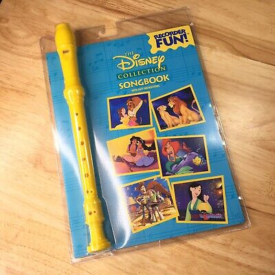 The Disney Collection Songbook Recorder Fun With Easy Instructions, Hal Leonard Disney Collection Songbook