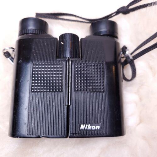 Vintage Nikon 9 X 25 5.6 Degree Binoculars Japan Sharp View Light Weight Used - $33.00