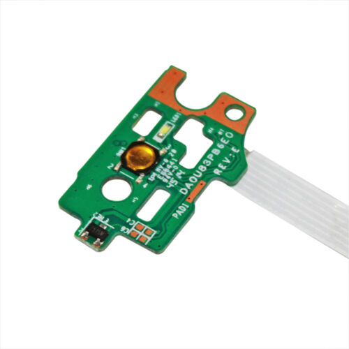 GinTai Power Switch On//Off Button Board Cable Replacement for HP 15-bk021nr 15-bk027cl 15-bk074nr 15-bk075nr