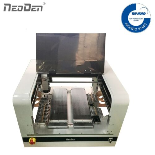 SMT Machine Pick and Place Robot 20 Electric Feeders Vision System for Prototype