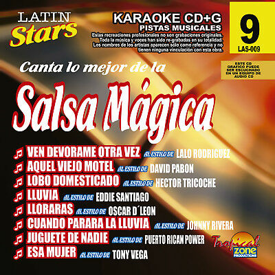 Karaoke CDGs, DVDs & Media - Latin Karaoke